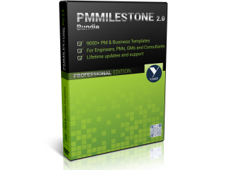 PMMilestone 2.0 Pro 9000+ Project Management and Business Templates, Plans, Tools and Forms!