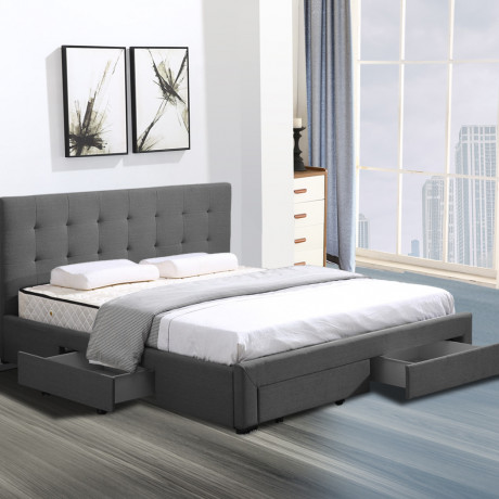 bed-frame-king-fabric-with-drawers-storage-wooden-mattress-grey-big-3