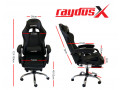 gaming-office-chairs-computer-seating-racing-with-back-massage-pointer-and-recliner-footrest-black-small-2