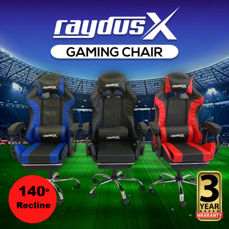 gaming-office-chairs-computer-seating-racing-with-back-massage-pointer-and-recliner-footrest-black-big-0